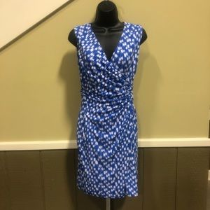 Ann Taylor faux wrap dress